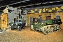 Museu da guerra de Duxford, Inglaterra - 21 de março de 2012 Museu imperial da guerra de Duxford no U K fotografia de stock royalty free