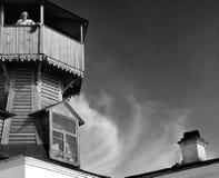 Museu da história da cidade de Tomsk Fotos de Stock