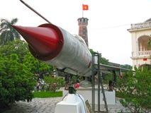 Museu da história de forças armadas vietnamianas imagens de stock