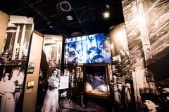 Museu da história de judeus poloneses Foto de Stock