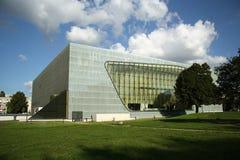 Museu da história de judeus poloneses em Varsóvia (Polônia) Imagens de Stock