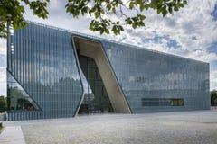 Museu da história de judeus poloneses em Varsóvia, Polônia Foto de Stock Royalty Free