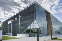Museu da história de judeus poloneses em Varsóvia, Polônia Fotos de Stock