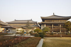 Museu da história de Shaanxi Fotografia de Stock