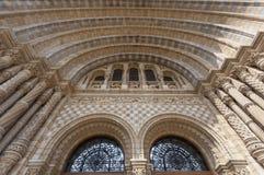 Museu da Hist?ria natural em Londres fotos de stock