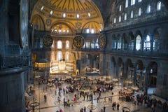 Museu da igreja de Hagia Sopia, curso Istambul, Turquia Imagens de Stock Royalty Free