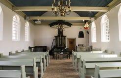 Museu da igreja em Schokland Flevoland imagens de stock royalty free