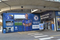 Museu da loja do estádio da ponte de Stamford Fotografia de Stock Royalty Free