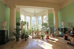 Museu da propriedade de Leninskiye Gorki, região de Moscou imagem de stock royalty free