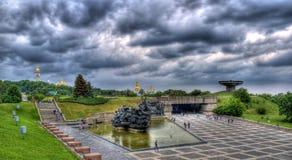 Museu da segunda guerra de mundo em Kiev Fotografia de Stock Royalty Free