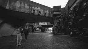 Museu da segunda guerra mundial imagens de stock