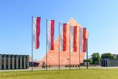 Museu da segunda guerra mundial em Gdansk Imagens de Stock Royalty Free