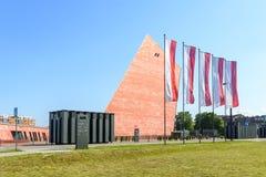 Museu da segunda guerra mundial em Gdansk Imagem de Stock