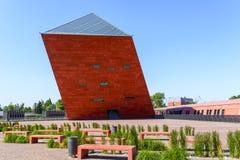 Museu da segunda guerra mundial em Gdansk Fotos de Stock
