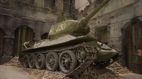 Museu da segunda guerra mundial em Gdansk Foto de Stock Royalty Free