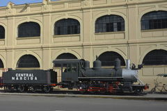 MUSEU DAS LOCOMOTIVAS DE CUBA HAVANA Imagem de Stock Royalty Free