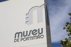 Museu de波尔蒂芒在葡萄牙 库存图片
