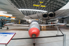 Museu de Aeroscopia, perto de Toulouse, França do sul Fotos de Stock
