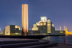 Museu de Art Doha islâmico, Catar Imagens de Stock