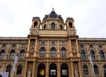 Museu de Art History em Maria Theresa Square em Viena Imagens de Stock