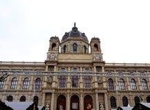 Museu de Art History em Maria Theresa Square em Viena Imagens de Stock Royalty Free