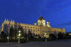 Museu de Art History em Viena em Áustria Fotos de Stock