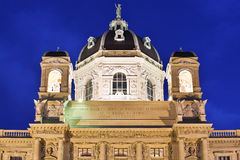 Museu de Art History Vienna Fotografia de Stock