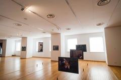 Museu de arte contemporânea Fotografia de Stock Royalty Free