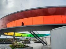Museu de arte contemporânea Aarhus de Aros, Dinamarca Foto de Stock