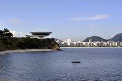 Museu de Arte Contemporânea de Niterói (MAC) Royalty Free Stock Image