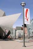 Museu de arte de Denver fotografia de stock