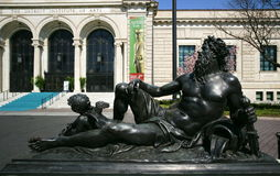 Museu de arte de Detroit Fotografia de Stock