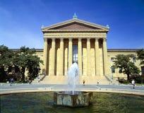 Museu de arte de Philadelphfia Imagens de Stock Royalty Free