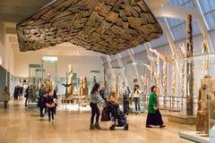 Museu de arte metropolitano em New York City imagens de stock