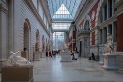 Museu de arte metropolitano - New York City, EUA fotografia de stock