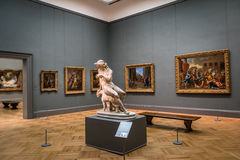 Museu de arte metropolitano - New York City, EUA fotografia de stock royalty free