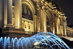 Museu de arte metropolitano, NYC fotografia de stock