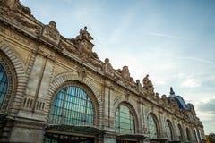 Museu de arte moderna de Orsay em Paris, França imagens de stock