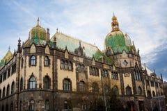 Museu de artes aplicadas (Budapest) Imagens de Stock