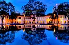 Museu de artes de Singapore fotografia de stock