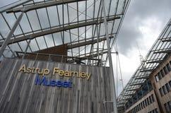 Museu de Astrup Fearnley de arte moderna Foto de Stock Royalty Free