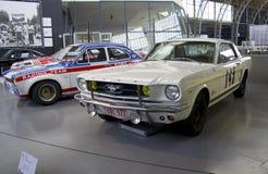 Museu de Autoworld, Bruxelas, Bélgica, o 10 de julho de 2016 fotos de stock royalty free