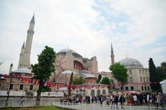 Museu de Ayasofya da mesquita de Hagia Sophia em Istambul, Turquia fotos de stock royalty free