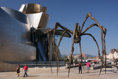 Museu de Bilbao Fotografia de Stock Royalty Free
