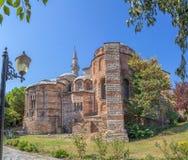 Museu de Chora - igreja, Istambul foto de stock