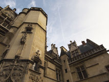 Museu de Cluny ou Museu Nacional da Idade Média imagens de stock