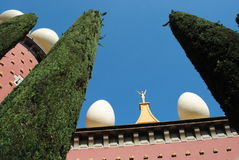 Museu de Dali, Figueiras, Espanha foto de stock royalty free