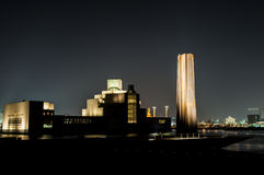 Museu de Doha da arte islâmica Fotografia de Stock