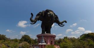 Museu de Erawan em Banguecoque, Tailândia Foto de Stock