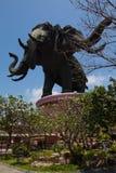 Museu de Erawan em Banguecoque, Tailândia Imagem de Stock